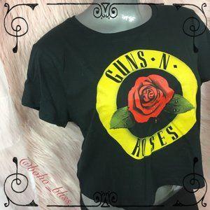 🎀SALE🎀 Guns N' Roses | Short Sleeve Crop Tee NEW